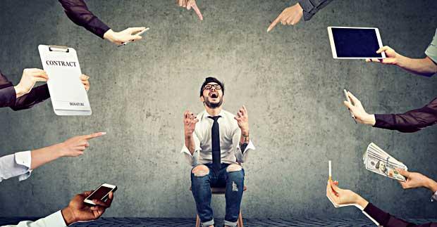 Å starte egen bedrift kan være overveldende